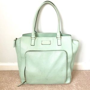 Tiffany blue shoulder bag